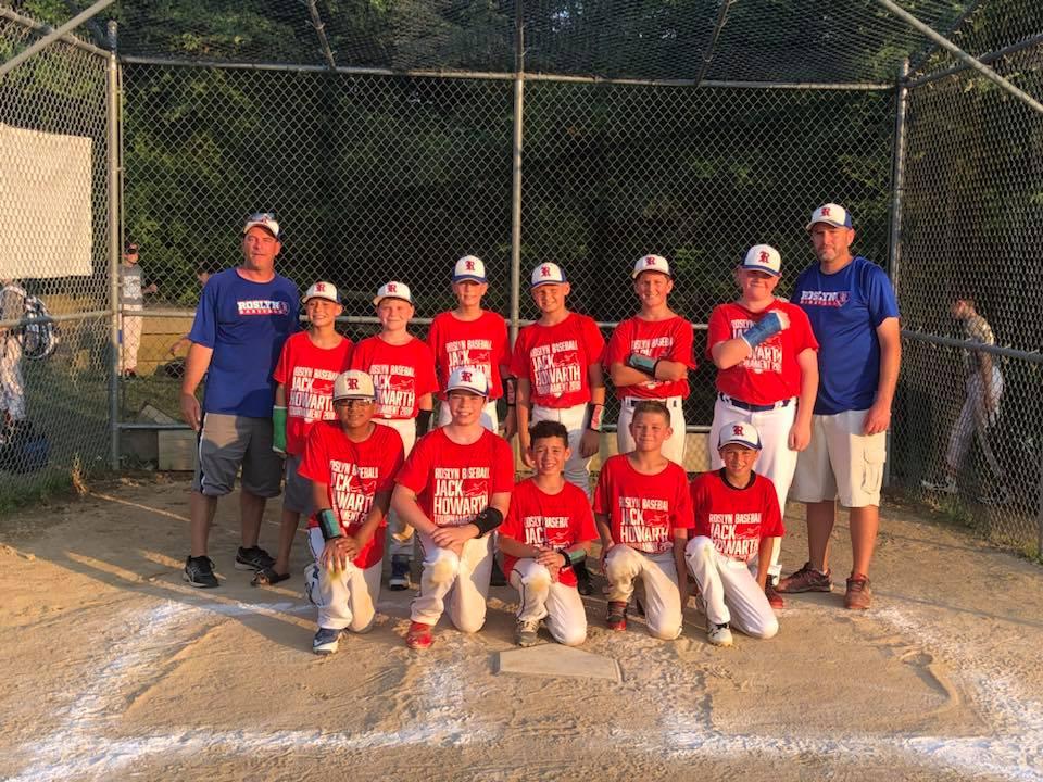 2018 roslyn jack howarth baseball tournament roslyn boys girls club